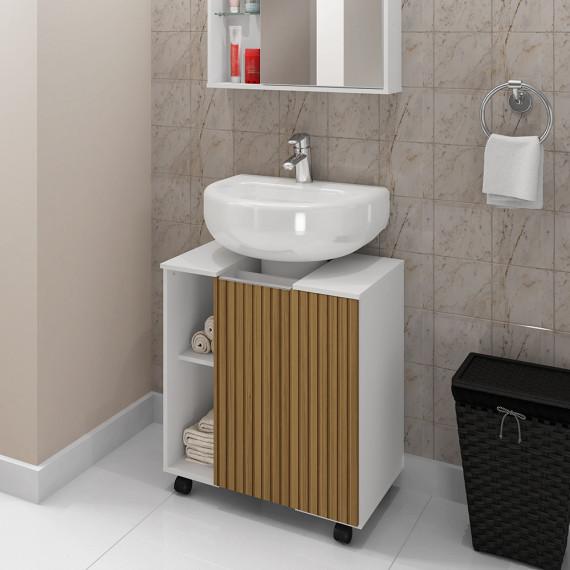 Gabinete Para Banheiro Pequin