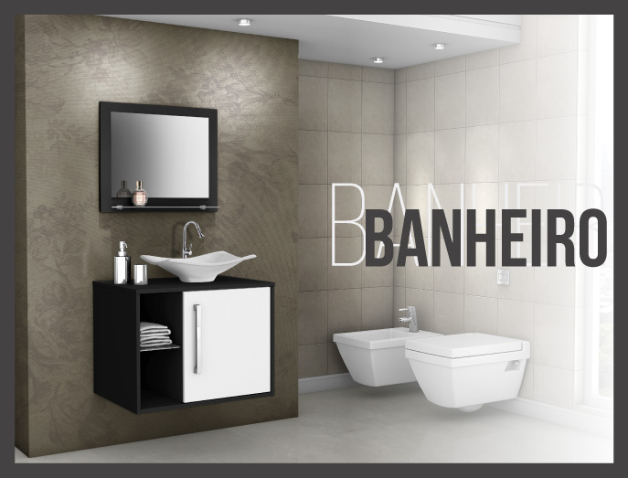 Mosaico Banheiro